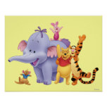 Pooh & Friends 4 Poster