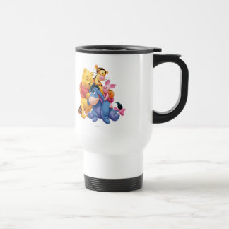 Pooh & Friends 5 15 Oz Stainless Steel Travel Mug