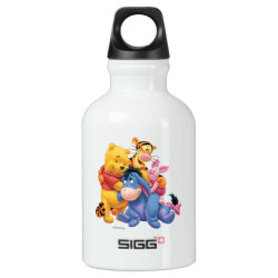 Winnie the Pooh, Tigger, Eeyore and Piglet Group Photo SIGG Traveller Water Bottle (0.6L)