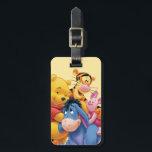"""Pooh &amp; Friends 5 Bag Tag<br><div class=""""desc"""">Pooh &amp; Friends</div>"""