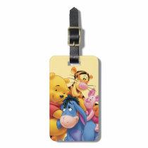 Pooh & Friends 5 Bag Tag