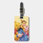 Pooh & Friends 5 Luggage Tag