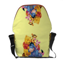 Pooh & Friends 5 Messenger Bags at Zazzle
