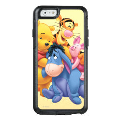 OtterBox Symmetry iPhone 6/6s Case with Winnie the Pooh, Tigger, Eeyore and Piglet Group Photo design