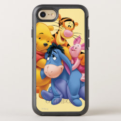 Winnie the Pooh, Tigger, Eeyore and Piglet Group Photo OtterBox Apple iPhone 7 Symmetry Case