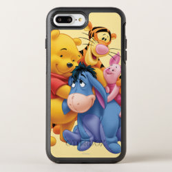 Winnie the Pooh, Tigger, Eeyore and Piglet Group Photo OtterBox Apple iPhone 7 Plus Symmetry Case