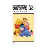 Pooh & Friends 5 Postage Stamp