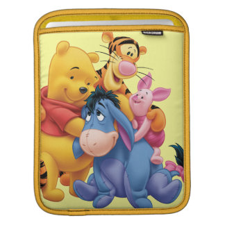 Pooh & Friends 5 Sleeve For iPads