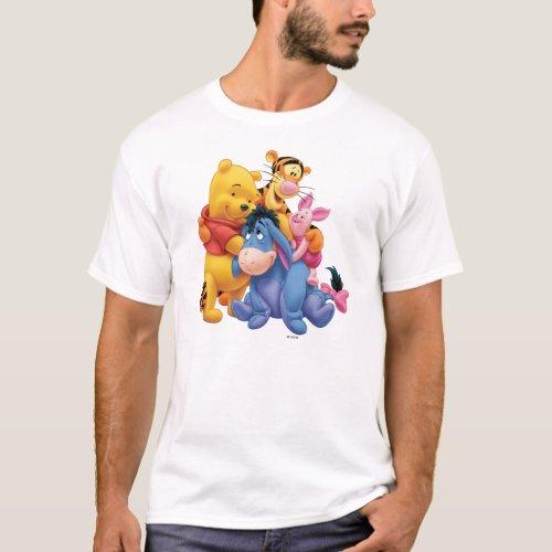 Pooh  Friends 5 T_Shirt