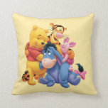 "Pooh &amp; Friends 5 Throw Pillow<br><div class=""desc"">Pooh &amp; Friends</div>"