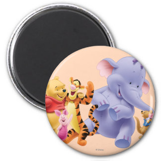 Pooh & Friends 6 Magnet