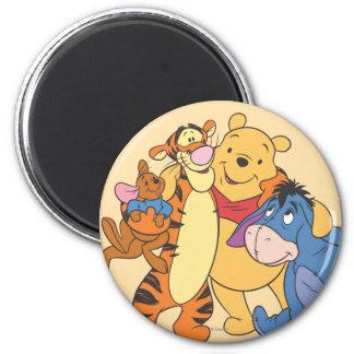 Pooh & Friends 7 Magnet