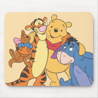 Pooh & Friends 7 Mouse Pad