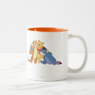 Pooh & Friends 7 Two-Tone Coffee Mug