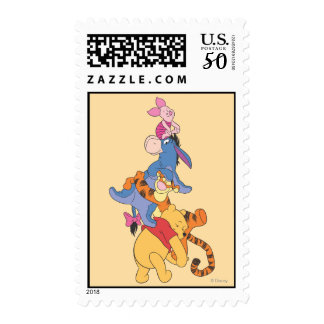 Pooh & Friends 8 Postage