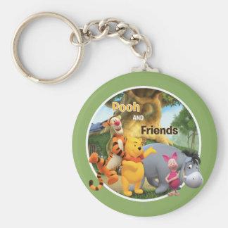 Pooh & Friends 9 Keychain