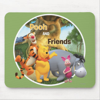Pooh & Friends 9 Mouse Pad