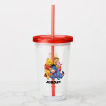 Pooh & Friends - Add Your Name Acrylic Tumbler