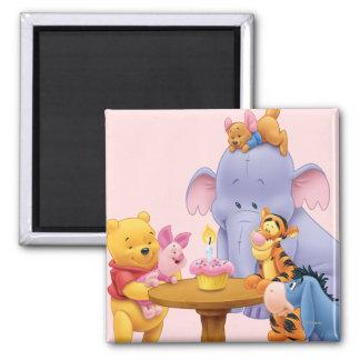 Pooh & Friends Birthday Magnet