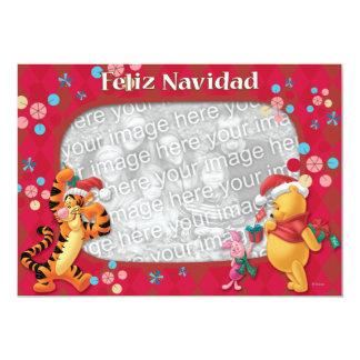 Pooh & Friends: Feliz Navidad Greeting Card