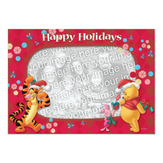 Pooh & Friends: Happy Holidays Greeting Card