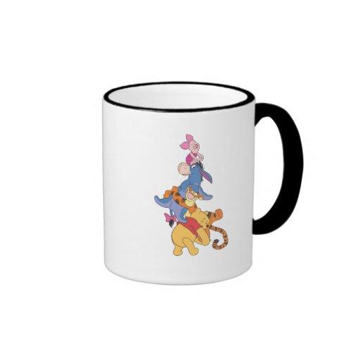 Pooh & Friends Ringer Coffee Mug