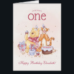"""Pooh &amp; Friends Watercolor 