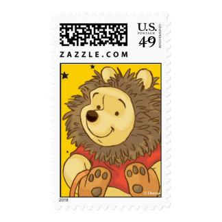 Pooh Halloween Postage Stamp