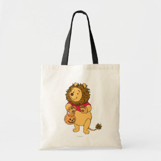 Pooh in Lion Costume Tote Bag