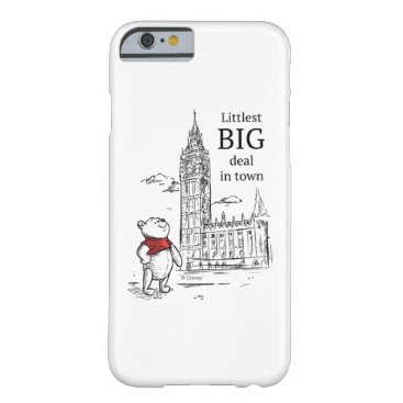 Pooh   Littlest Big Deal in Town Barely There iPhone 6 Case