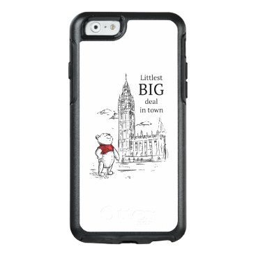 Pooh   Littlest Big Deal in Town OtterBox iPhone 6/6s Case