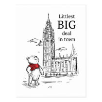 Pooh | Littlest Big Deal in Town Postcard
