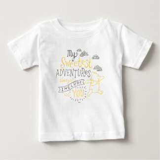 Pooh | My Sweetest Adventures Baby T-Shirt