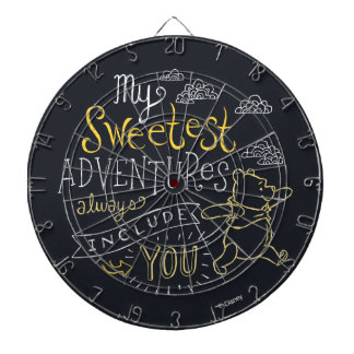Pooh | My Sweetest Adventures Dartboard