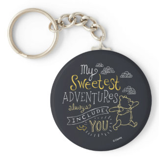Pooh | My Sweetest Adventures Keychain