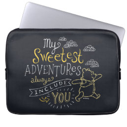 Pooh | My Sweetest Adventures Laptop Sleeve