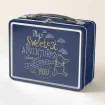Pooh | My Sweetest Adventures Metal Lunch Box