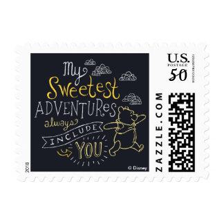 Pooh | My Sweetest Adventures Postage