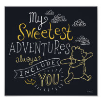 Pooh | My Sweetest Adventures Poster