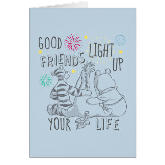 Pooh & Pals | Friends Light Up Your Life Card