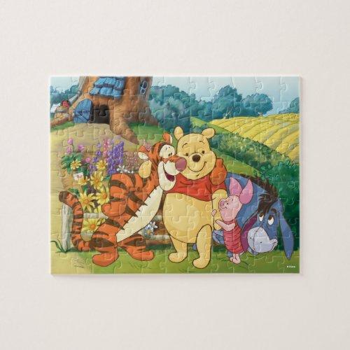 Pooh  Pals Group Hug Jigsaw Puzzle