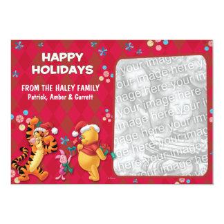 Pooh & Pals: Happy Holidays Card Card