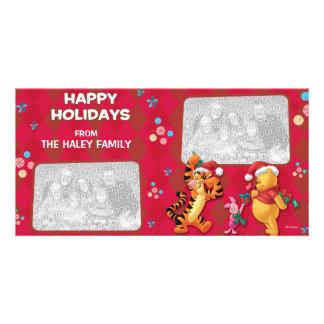 Pooh & Pals Holiday Photo Card
