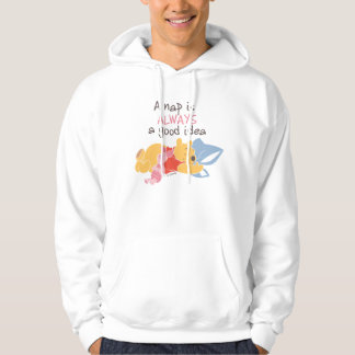 Pooh & Piglet | A Nap is Always a Good Idea Hoodie