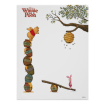 Pooh Piglet and Honey Pots | Movie Poster