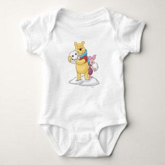 Pooh & Piglet Baby Bodysuit