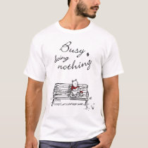 Pooh & Piglet | Busy Doing Nothing T-Shirt