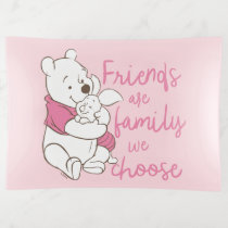Pooh & Piglet | Friends are Family We Choose Trinket Trays