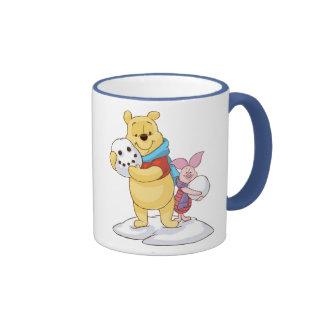 Pooh & Piglet Ringer Mug