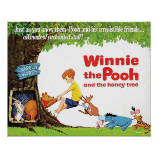Pooh Stuck in the Honey Tree | Movie Poster